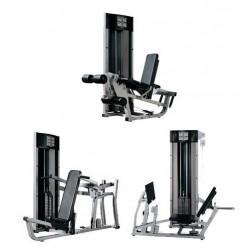 Zestaw 4 podwójnych maszyn Life Fitness - Fit Series